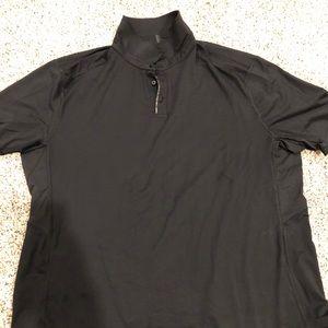 XXL Men's Lululemon Black Polo Shirt